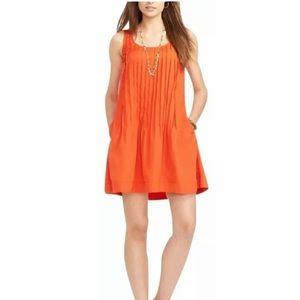 Ralph Lauren Cabana Ora Sleeveless Pleated Dress 0